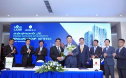 Novaland appointed Lotte E&C as the main contractor for luxury condo complexes