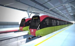 Hanoi Station - Hoang Mai metro line 3 worth over VND40 trillion to be kicked off by 2021