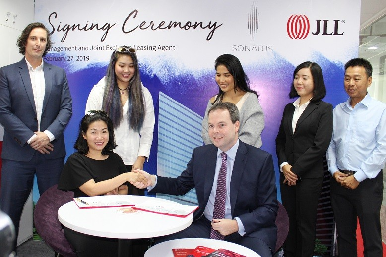 JLL appointed as the management and joint exclusive leasing agent for Sonatus